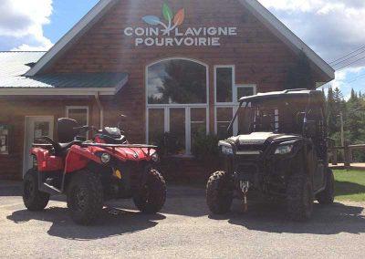 Pourvoirie Coin Lavigne - Location VTT - St-Côme - Lanaudière - Qc