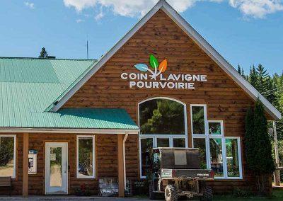 Pourvoirie - Coin Lavigne - Accueil - St-Come - Lanaudiere