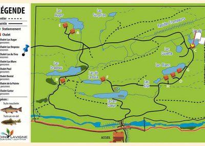 Pourvoirie Coin Lavigne - Mappe C Chalet du Trou