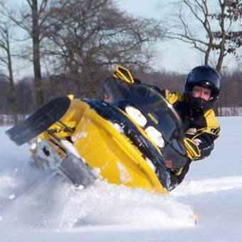 Snowmobile rental - Coin Lavigne